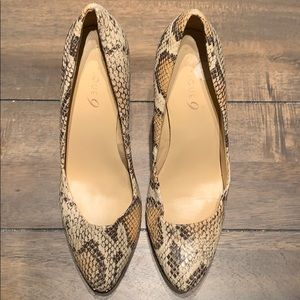 Boutique 9 Animal Print Shoes size 8.5